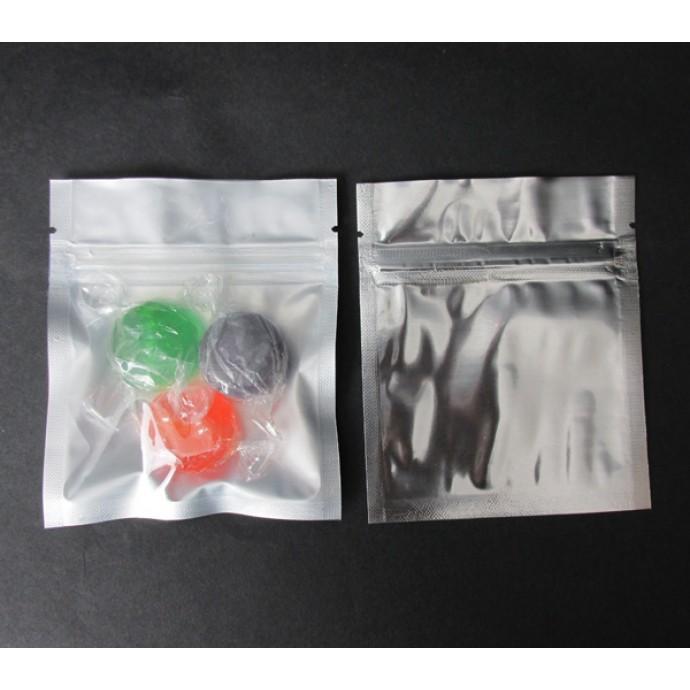 """3.4"""" x 4"""" OD Clear/Silver MiniPouch; (1,000/CASE) - 034VST04OZE"""