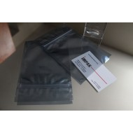 """4"""" x 4"""" Static Shielding ESD Pouch with Tamper Evident ZipSeal; (1000/case) - 04PKS04ZTE"""