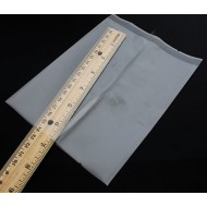 "5.5"" x 7.5"" Clear Fin Seal pouch; (2,000/case) - 055PM4AO075TN"