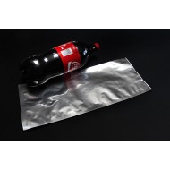"7.5"" x 18"" Mylar Foil Bag (500/case) - 075MFS18L125"