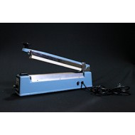 "IPK-305HK: 12"" Tabletop Hand Impulse Sealer with Cutter - 5mm Seal"