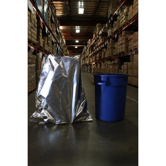 "34"" x 42"" OD Mylar Foil bag; (100/case) - 34MFS42"