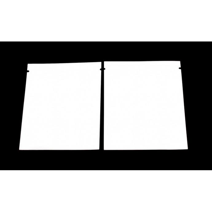 """3"""" x 3.5"""" Clear/Silver Mylar Pouch; (1,000 bags) - 35M03VST035BTN"""