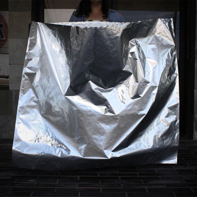 "54"" x 48"" Mylar Foil Bag; (20/case) - 54MFS48"