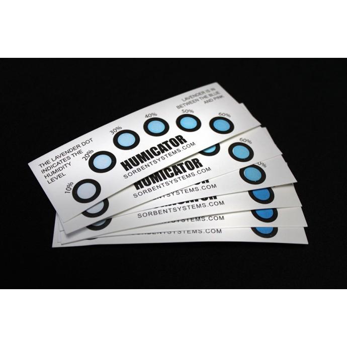 10%-60% RH 6 Spot Humidity Indicator Card; (10/pack) - 6HC106010PK