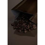 2OZBK - 2 ounce black MylarFoil coffee bag without valve; (2,000/case)