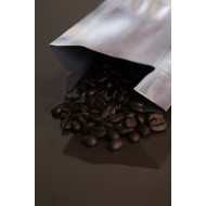 2OZSI - 2 ounce silver MylarFoil coffee bag without valve; (2,000/case)