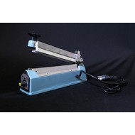 "IPK-205HK: 8"" Tabletop Hand Impulse Sealer with Cutter - 5mm Seal"