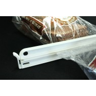 "BGCLP32 - 12.5"" White Industrial Grade Bag Clips Heatless Sealers"