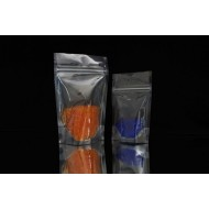 "6.69"" x 11"" x 3.5"" Clear Stand Up pouch; (1,000/Case) - DMP35Z"