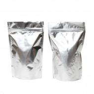 """5"""" x 8"""" x 3"""" OD Silver Mylar Foil Stand up Pouch; (1,000/case) - BR03ZRC"""