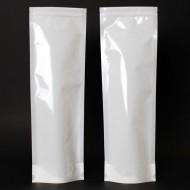"""6"""" x 18"""" """" x 3.5"""" OD White Mylar Foil Stand Up Pouch; (1,000/case) - CMW18BG035Z"""