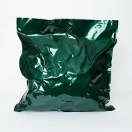 "23"" X 24"" ID PAKVF4C Green MylarFoil Bag for 22 lb. Pelletized Hops (100/case) - 23VF4C24IDGR"