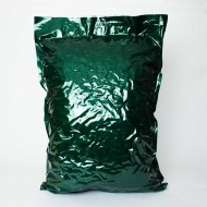 "23"" X 34.5"" PAKVF4C Green MylarFoil Bag for 44 lb. Pelletized Hops (100/case) - 23VF4C345IDGR"