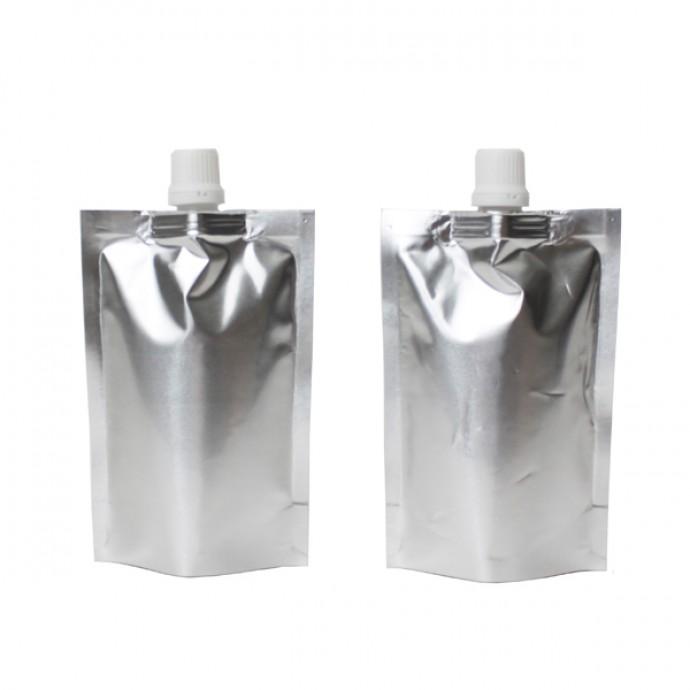 """3.5"""" x 5.25"""" x 1.5"""" Silver SpoutPak™; (500/case) - FTSSP100VF4N"""
