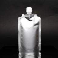 "4.125"" x 6.625"" x 2.675"" Silver SpoutPak™; (500/case) - FTSSP250CSISL"