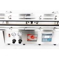 GXVS-36TS: 36 Inch Twin Retractable Nozzles Dual Heat Vacuum Sealer