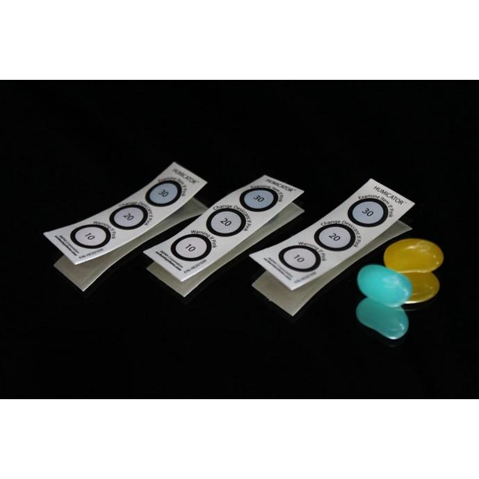 10%, 20%, 30% RH 3 Spot Humidity Indicator Card; (100/pack) - HIC031030/100PK