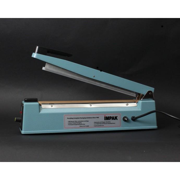 """12"""" Tabletop Hand Impulse Sealer - 5mm Seal - IPK-305H"""