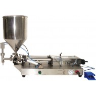 PPF1000:  Heavy Duty Stainless Steel Pneumatic Piston Filler Machine for 100-1000ml