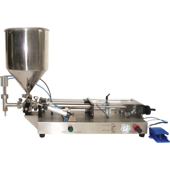 PPF1000:  Heavy Duty Stainless-Steel Pneumatic Piston Filler for 100-1000ml