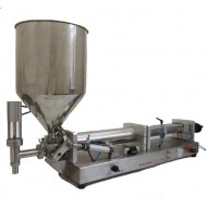 PPF500: Stainless Steel Pneumatic Paste Liquid Filler Machine for 50-500ml