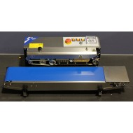 RSH1525LRSS:  Horizontal Tabletop Stainless Steel RapidSealer (Band Sealer) - Left to Right