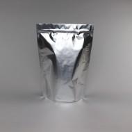 """11"""" x 16.2"""" x 5.75"""" OD Silver Mylar Foil Stand Up Pouch; (250/case) photo# 2 - GR575ZRC"""