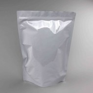 "11"" x 16.2"" x 5.75"" OD White Mylar Foil Stand Up Pouch; (250/case) photo# 1 - GW11BG575ZRC"