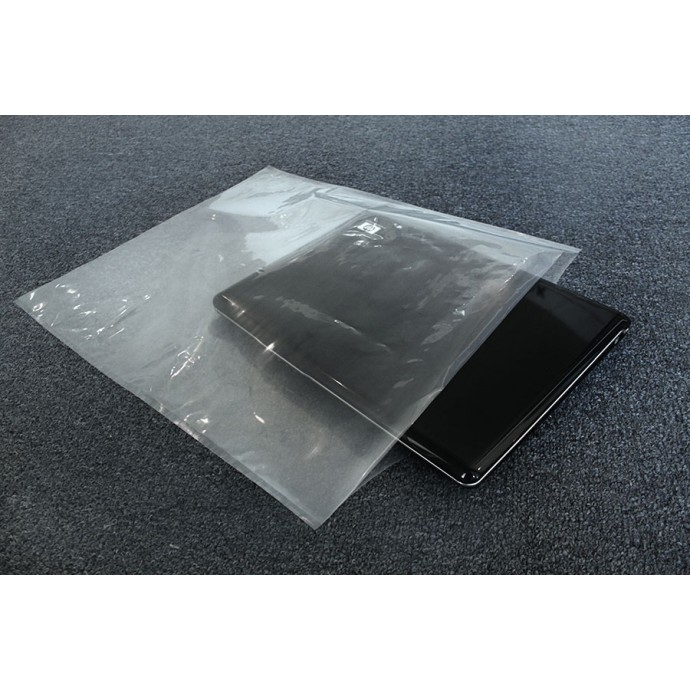 """20"""" x 24"""" OD Transparent Vacuum Bag; (200/case) - V5R202375"""