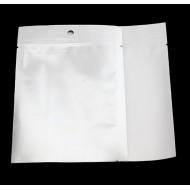 "4.0"" x 5.25"" OD Clear/Silver MiniPouch Vista Bag (1,000/case) - VST040525TNHH"