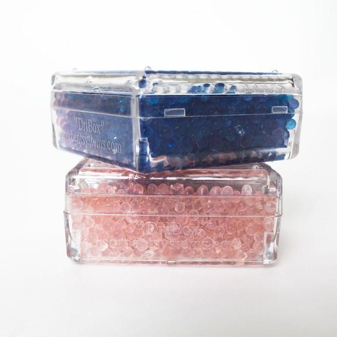 45.5 gram blue silica gel reusable dribox; (Pack of 1) - 1494SB01