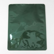 "8"" x 10"" Green Mylar Foil Bag; (500/case) - 08P4C10GRRC"