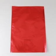 "10"" x 14"" OD PAKVF2.5M Red Mylar Pouch (250/Case) - 25MR1014"