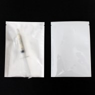 "4.25"" x 6.0"" MylarFoil Clear/White Pouch with Tear Notch (1000/case)"