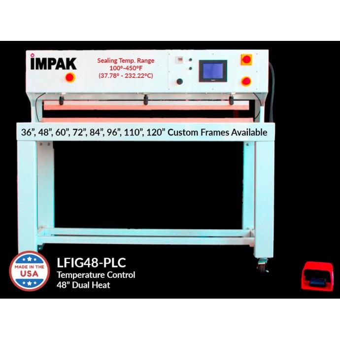 Lfig48tic Heavy Duty 48 Quot Impulse Vacuum Sealer Machine