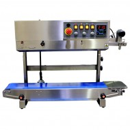Stainless Steel Vertical Band Sealer with Printer and Gas Flush - Digital - RSV1575SSGFRL