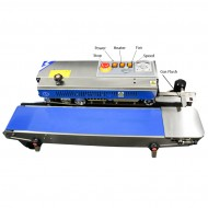 VakRapidGF Stainless Steel Band Sealer - Gas Flush - Left to Right - RSH1525SSGFLR