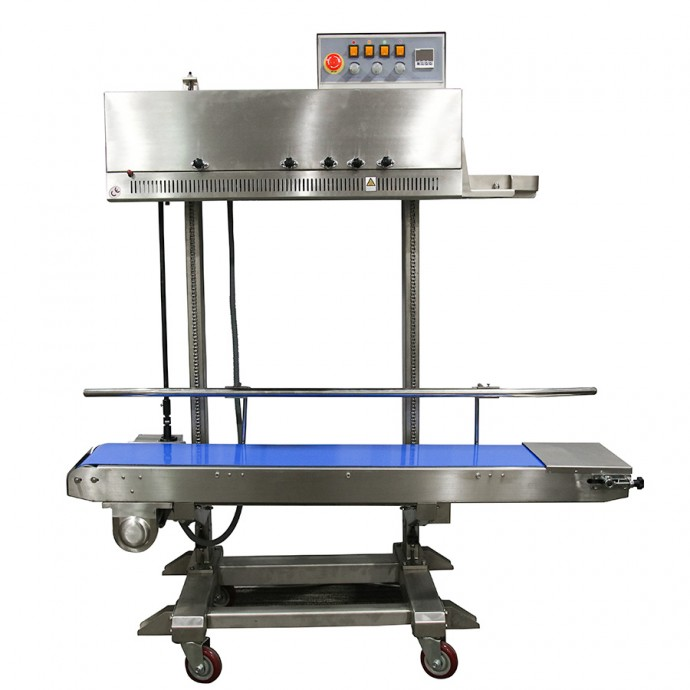 Large Stainless Steel Vertical Band Sealer  - Right to Left - RSV2225