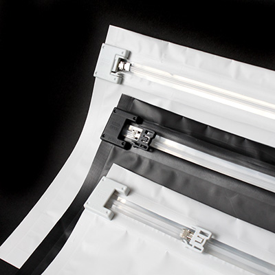 Zipper Profiles For Resealable Bags