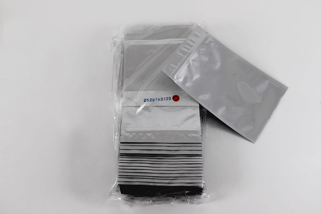sterilized mylar pouches